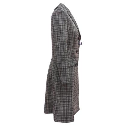 Christian Dior Coat met dubbele knoopsluiting