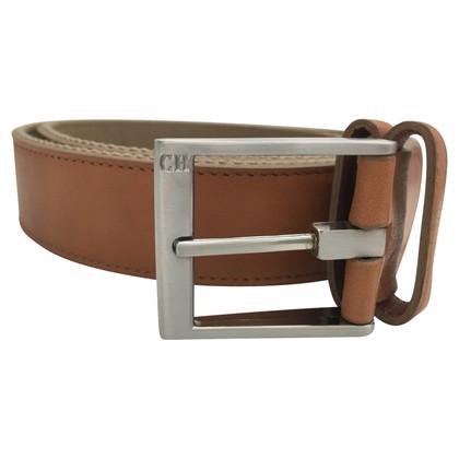 Carolina Herrera leather belt