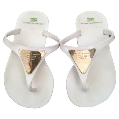 Elisabetta Franchi flip Flops