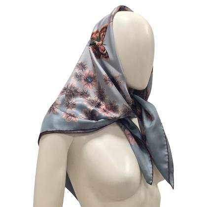 Valentino Zijden sjaal met print