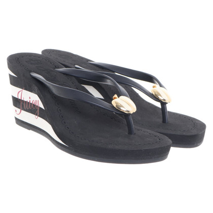 Juicy Couture Sandals with application