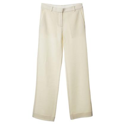 Helmut Lang Pantaloni in crema