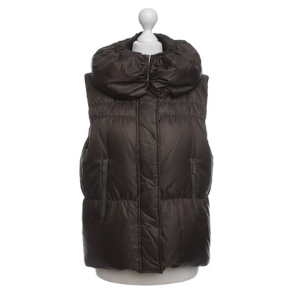 BCBG Max Azria Down Vest in Green