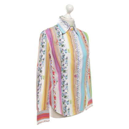 Etro Shirt blouse in multicolor