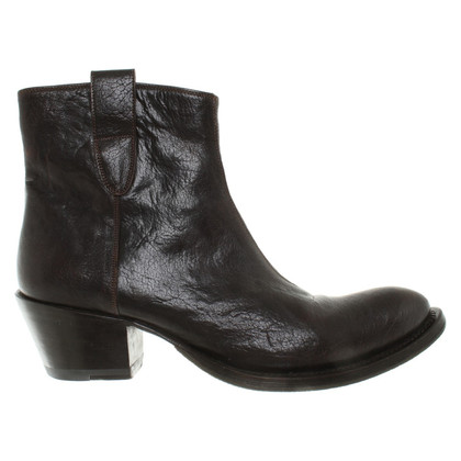 Gianni Barbato Boots in Brown