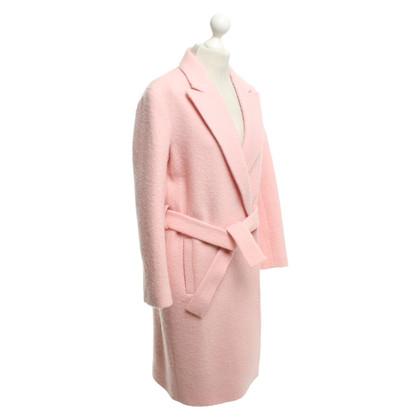 Sandro Wool coat in pink