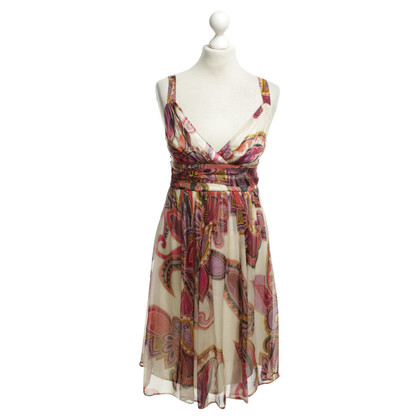 Other Designer Ana Alcazar - silk dress with pattern