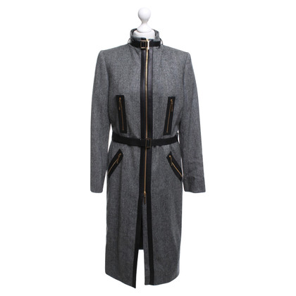 Gucci Coat with leather trim