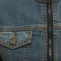 Matthew Williamson Veste en jean en look usé