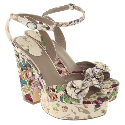 Kenzo Wedges with floral print
