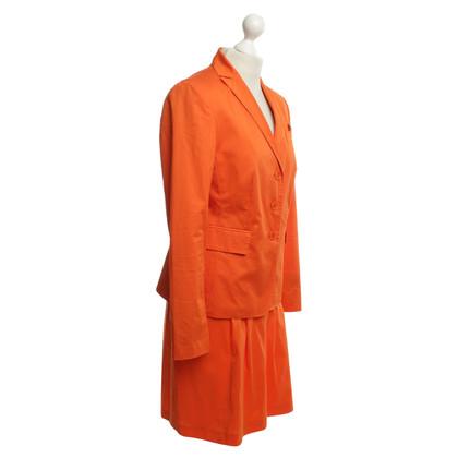 St. Emile Costume is orange