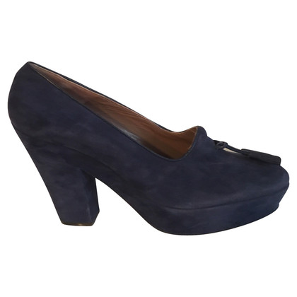 Alessandro Dell'Acqua pumps from suede