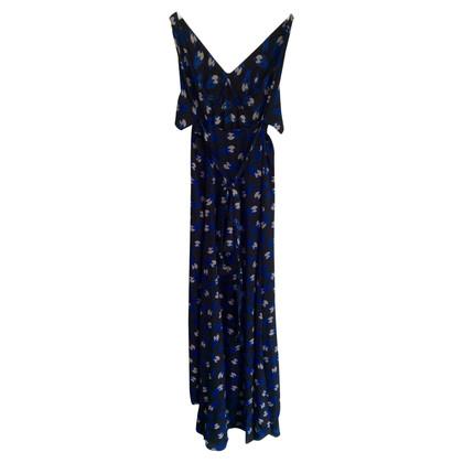 Diane von Furstenberg zijden jurk met print