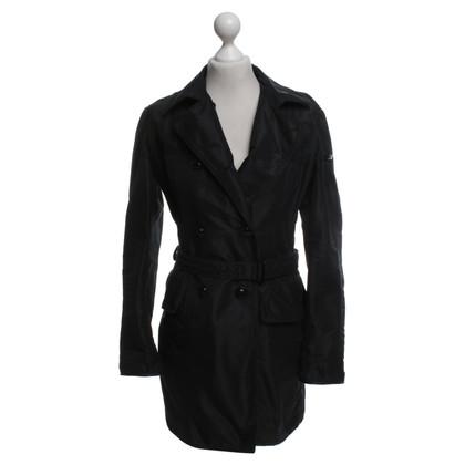 Peuterey Trench coat in black