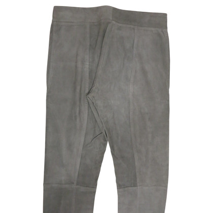 Malo trousers suede leather