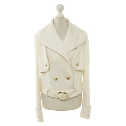 Juicy Couture Jacke in Creme