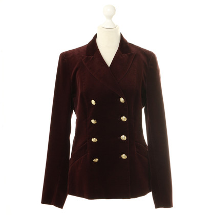 Max & Co Bordeaux fluweel Blazer