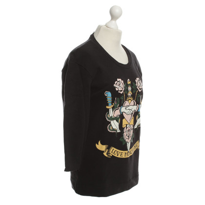 Moschino top with Motif Print