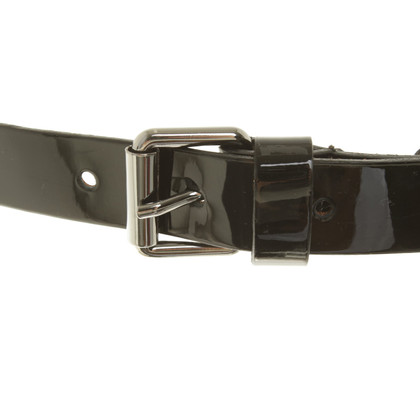 Other Designer Ermanno Scervino - patent leather belt