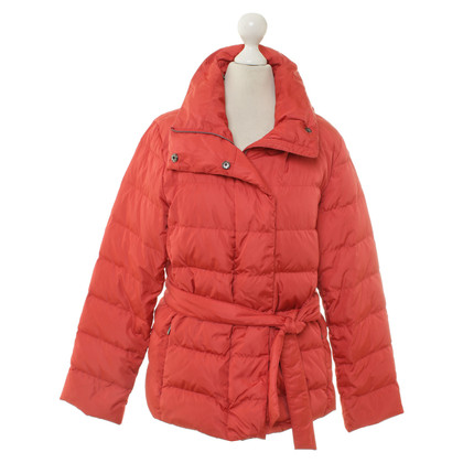 Max Mara Quilted Jacket in light red