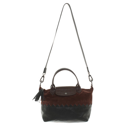 Longchamp Bag in zwart / Brown