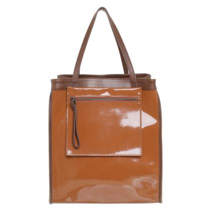 Marni for H&M Shoppers en cuir verni
