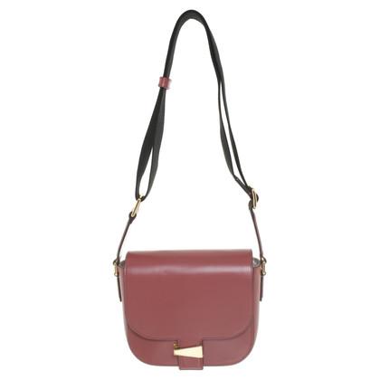 Hugo Boss Shoulder bag in berry colors