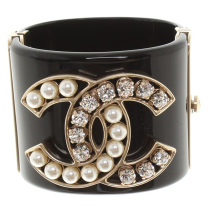 Chanel Bangle zwart