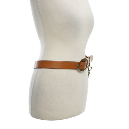 Ralph Lauren Waist belt with link chain element
