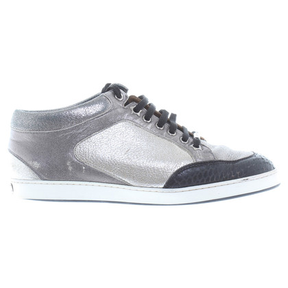 Jimmy Choo Sneakers in metallic-look