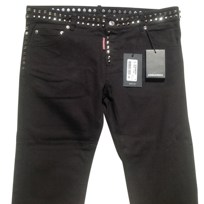 Dsquared2 Jeans with studs trim