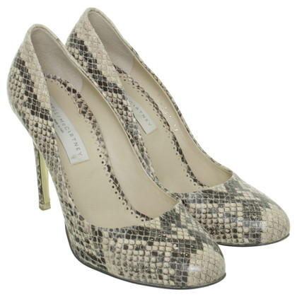 Stella McCartney Pumps in reptile finish