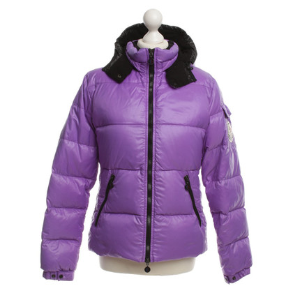 Moncler Down jacket purple