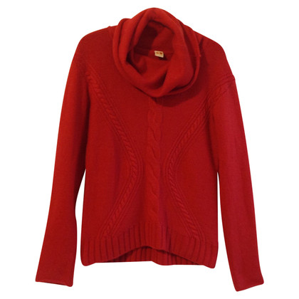 Boss Orange Strickpullover mit Zopf-Muster