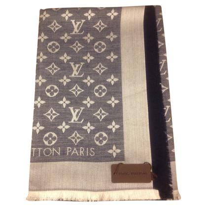 Louis Vuitton Monogram denimdoek in blauw