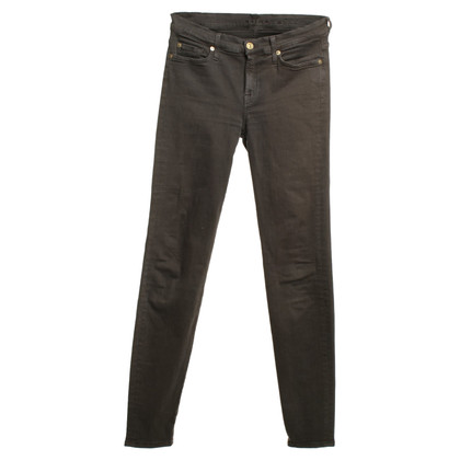 7 For All Mankind Skinny Jeans à Brown