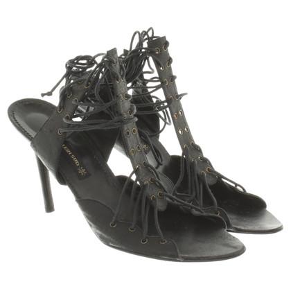 Plein Sud Sandals in black