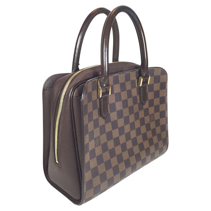 "Louis Vuitton ""Triana Damier Ebene Canvas"""