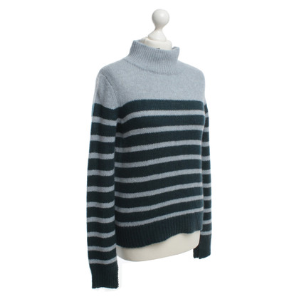 360 Sweater Striped cashmere sweater