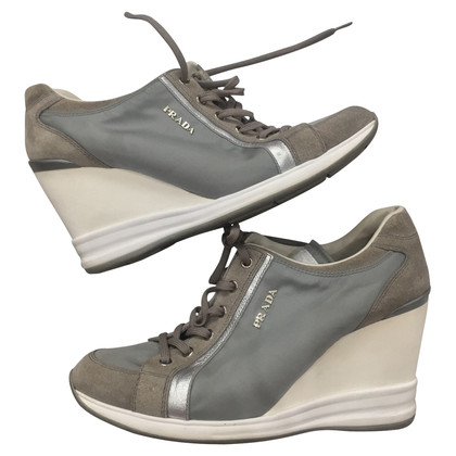 Prada Lace-up shoes in grey