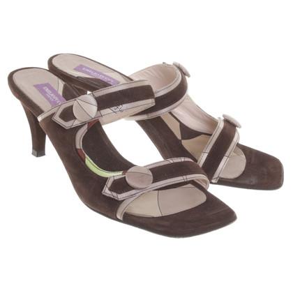 Emilio Pucci Suede sandals