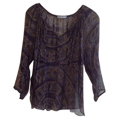 Strenesse Zijden blouse met patronen
