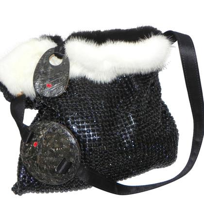 Escada Evening bag made of mink fur