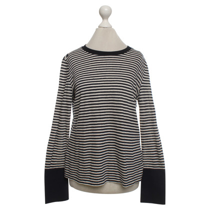 Tory Burch Sweater with striped pattern