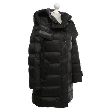 Burberry Coat in zwart Beneden