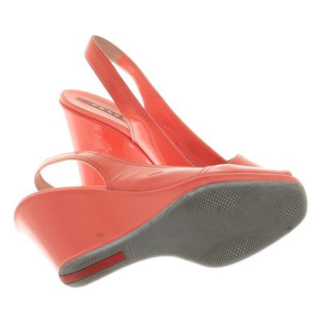 Sandaletten Sandaletten Korallfarbene Andere Farbe Andere Farbe Prada Korallfarbene Sandaletten Prada Prada Korallfarbene xw4Oq14znY