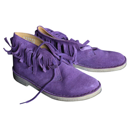 Clarks Veterschoenen in violet