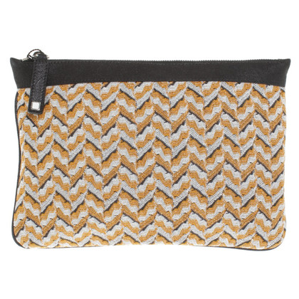 Missoni clutch in Tricolor