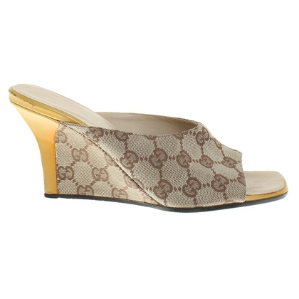 Gucci Wedges with Guccissima pattern