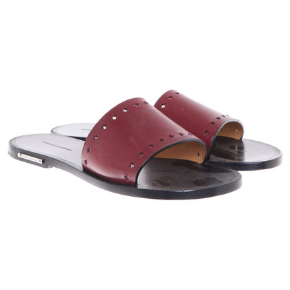 Isabel Marant Etoile Leather sandals in Bordeaux